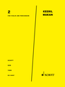 Keeril Makan: 2 for violin and percussion