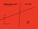 "Alex Mincek: String Quartet No. 3 ""lift - tilt - filter - split"""