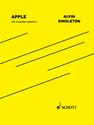 Alvin Singleton: Apple for clarinet quartet