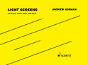 Andrew Norman: Light Screens
