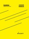 Andrew Norman: Sabina version for solo violin