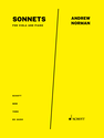 Andrew Norman: Sonnets version for viola and piano edited by Anne Lanzilotti