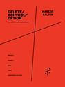 Marcos Balter: delete/control/option for alto flute and cello