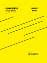 Ingolf Dahl: Concerto for Alto Saxophone and Wind Ensemble conductor score