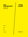 Pierre Jalbert: Duo Concertante for viola and double bass