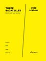 Fred Lerdahl: Three Bagatelles for violin and guitar