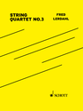 Fred Lerdahl: String Quartet No.3