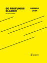 Hannah Lash: De Profundis Clamavi for SATB chorus