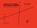 Ann Cleare: I should live in wires for leaving you behind for piano (2 players) and 2 percussion