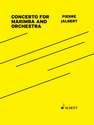 Pierre Jalbert: Concerto for Marimba and Orchestra conductor score