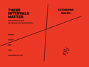 Katherine Balch: these intervals matter soprano and found objects