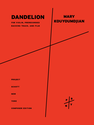 Mary Kouyoumdjian: Dandelion [for Andie Tanning Springer] for violin, prerecorded backing track, and film