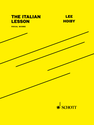 Lee Hoiby: The Italian Lesson vocal score