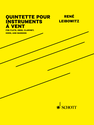 René Leibowitz: Quintette pour Instruments à Vent, Op. 11 for flute, clarinet, oboe, horn, and bassoon