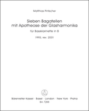 Sieben Bagatellen mit Apotheose der Glasharmonika
