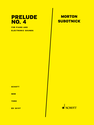 Morton Subotnick: Prelude No. 4 for piano and electronic sounds